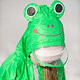 Дождевик детский  зелёный лягушонок, фото 4