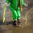 Дождевик детский  зелёный лягушонок, фото 5
