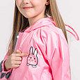Дождевик  детский розовый кролик, фото 6
