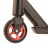 Самокат трюковыйShow Yourself со стальными дисками, красный, фото 3