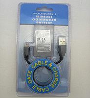 Аккумулятор и кабель для зарядки для джойстика Dualshock 3 для PS3