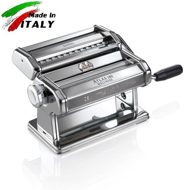 Marcato Atlas 180 mm ручная лапшерезка - тестораскатка для дома бытовая тестораскаточная машинка