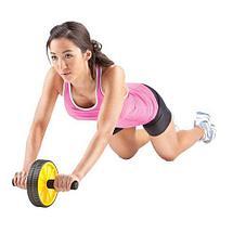Тренажер для всего тела AB Wheel {гимнастический ролик}, фото 2
