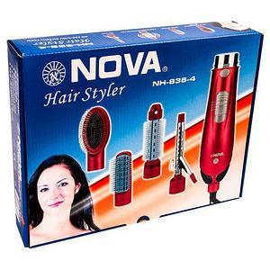 Фен-стайлер NOVA Hair Styler 4 в 1 NH-836-4