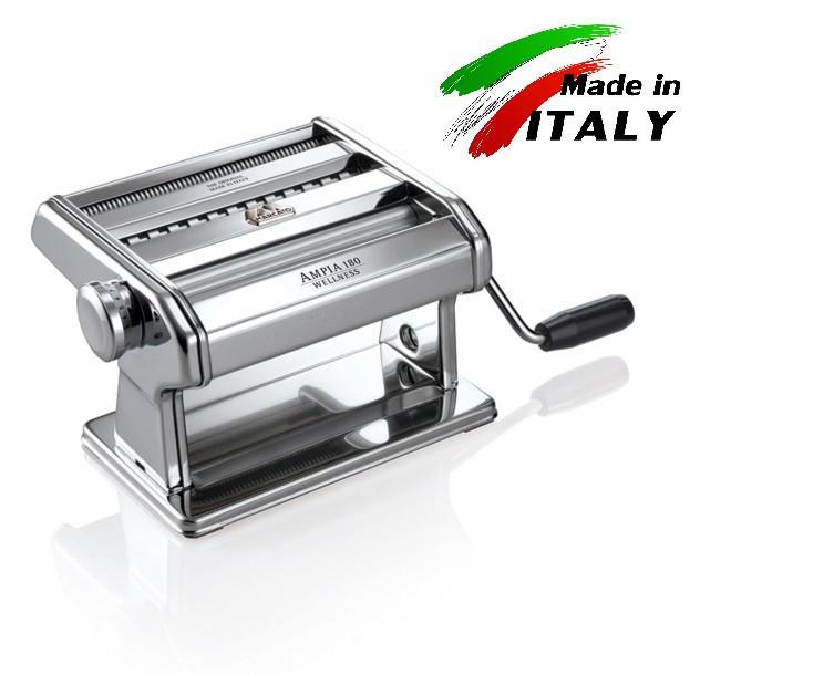 Marcato Ampia 180 mm ручная тестораскаточная машина - лапшерезка механическая