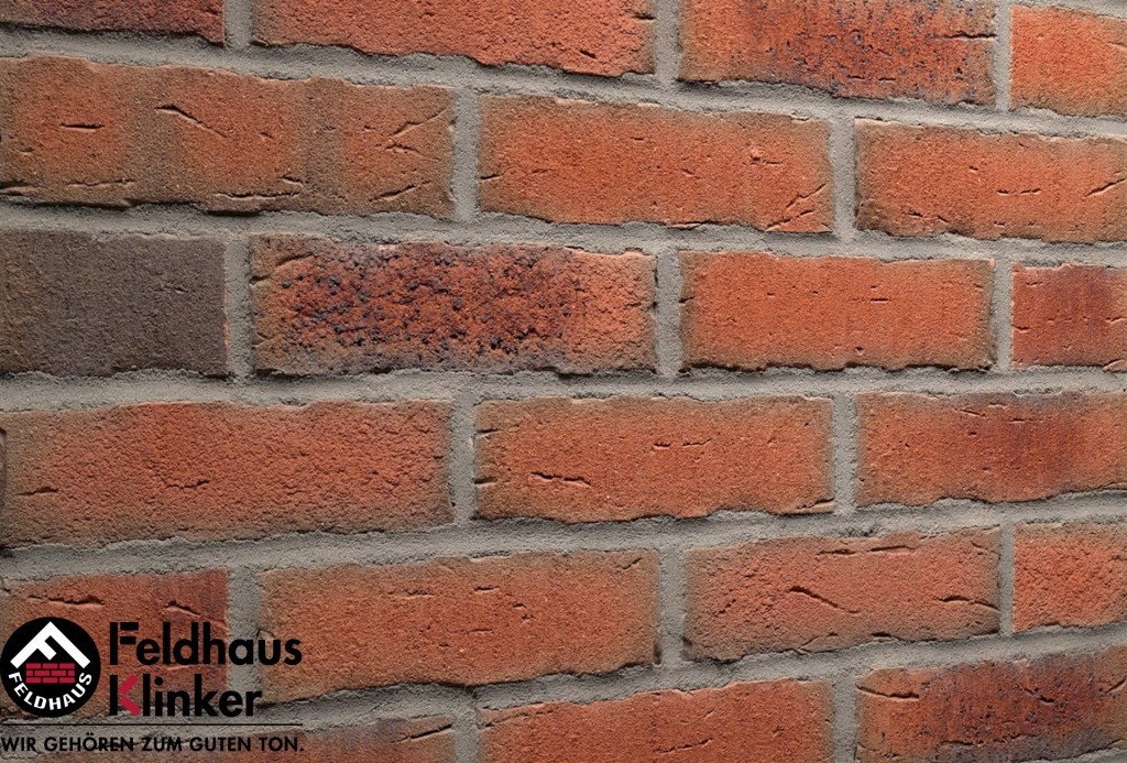 Клинкерная плитка Feldhaus Klinker R917 bacco