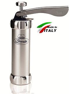 Marcato Biscuits Neutro кондитерский пистолет пресс шприц для изготовления печенья отсадочная машина