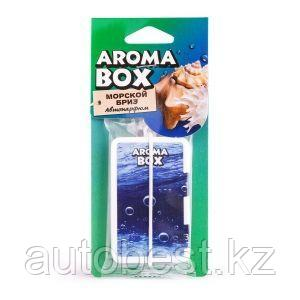 Ароматизатор подвесной «Морской бриз» серии «Aroma box» ,1/36