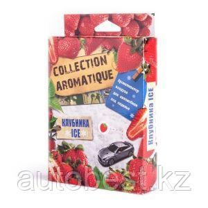 Ароматизатор воздуха под сиденье, Клубника ICE,  Collection Aromatic, 1/40