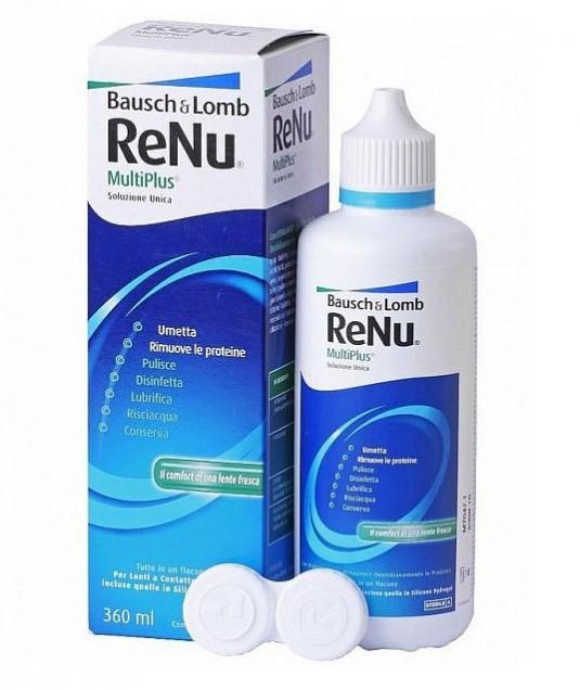Раствор для линз Renu Multiplus 360 мл.