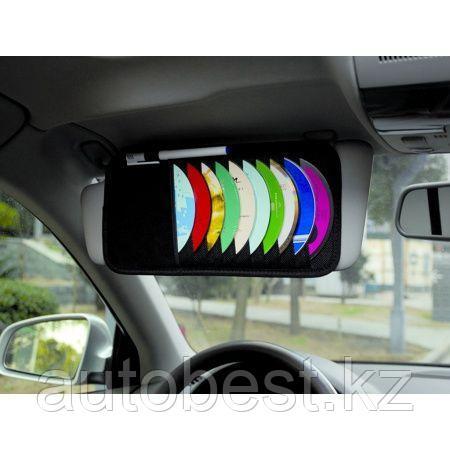 Органайзер для CD дисков AVS CO-001 черный