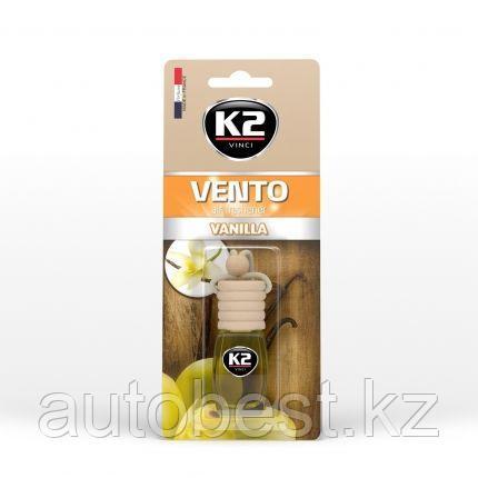 Ароматизатор К2 Vento флакон с деревянной крышкой (Ваниль)