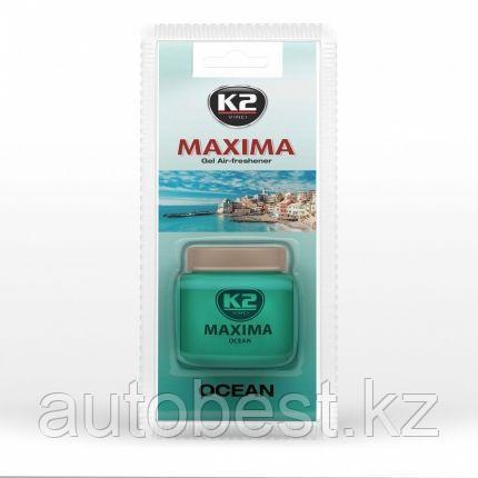 Ароматизатор К2 MAXIMA гелевый 50 мл (Океан)