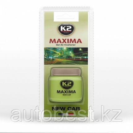 Ароматизатор К2 MAXIMA гелевый 50 мл (Новая машина)