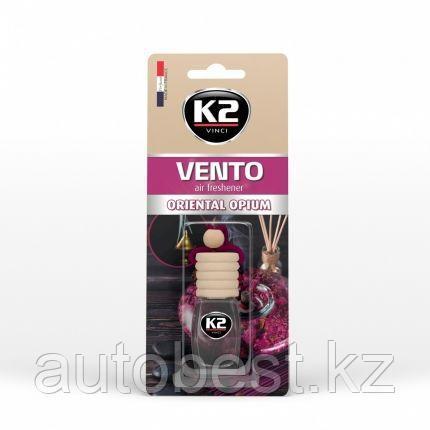 Ароматизатор K2 «VENTO» флакон с деревянной крышкой (восточный опиум)