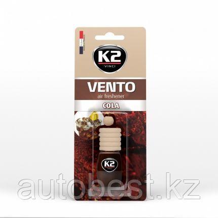 Ароматизатор K2 «VENTO» флакон с деревянной крышкой (кола)