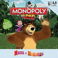 Монополия Джуниор Маша и медведь, Настольная экономическая игра, Хасбро, фото 1
