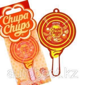 Ароматизатор воздуха «Chupa Chups» (Orange) подвесной, двойная пропитка, «Апельсин», 1/100/1000