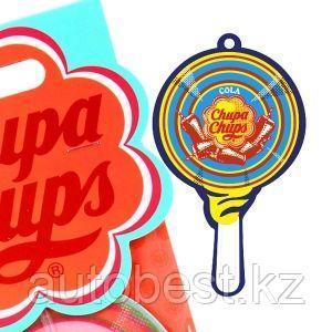 Ароматизатор воздуха «Chupa Chups» (Cola) подвесной, двойная пропитка, «Кола», 1/100/1000