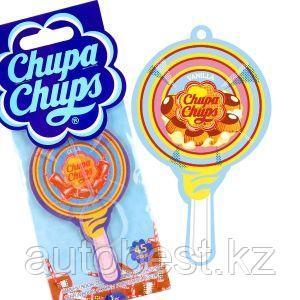 Ароматизатор воздуха «Chupa Chups» (Vanilla) подвесной, двойная пропитка, «Ваниль», 1/100/1000