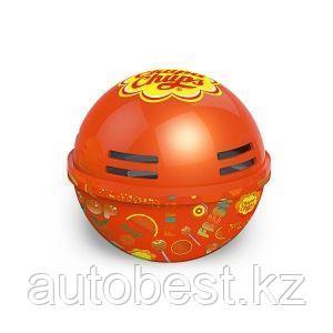 Ароматизатор воздуха «Chupa Chups» (Orange) на панель приборов, гелевый, 100 г. «Апельсин», 1/6/120