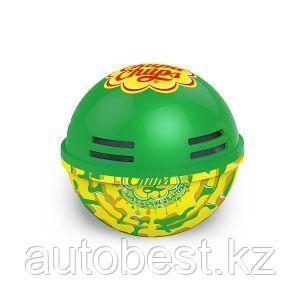 Ароматизатор воздуха «Chupa Chups» (Lime-lemon) на панель приборов, гелевый, 100 г. «Лайм-лимон», 1/