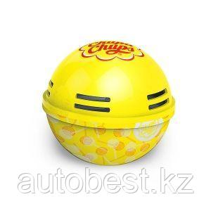 Ароматизатор воздуха «Chupa Chups» (Lemon) на панель приборов, гелевый, 100 г. «Лимон», 1/6/120