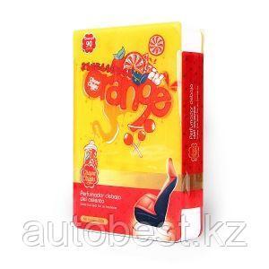 Ароматизатор воздуха «Chupa Chups» (Orange) под сиденье, гелевый, 200 г. «Апельсин», 1/6/60