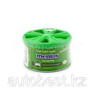 Ароматизатор воздуха «MENTOS» (GREEN APPLE) органик, банка, 54г. «Зеленое яблоко», 1/120