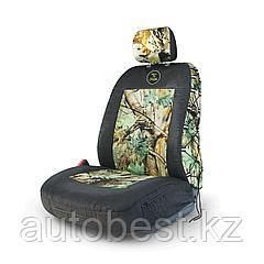 Чехол на перед. сиденье «Зверобой», с раздельным подголовником, брезентовая ткань