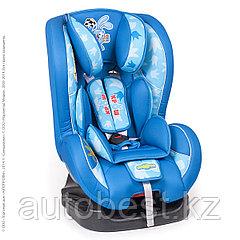 Детское кресло «Смешарики», группы 0+/1 (0-18 кг/0-4 года),с Крошем, поролон 3 см,син/голубой