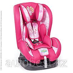 Детское кресло «Смешарики», группы 0+/1 (0-18 кг/0-4 года),с Нюшей, поролон 3 см,розовый