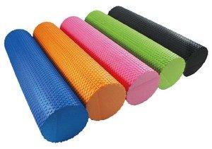Роллер (валик) массажный для фитнеса и йоги