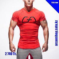 Дышащая футболка для бега Gym Aesthetics красная, фото 1