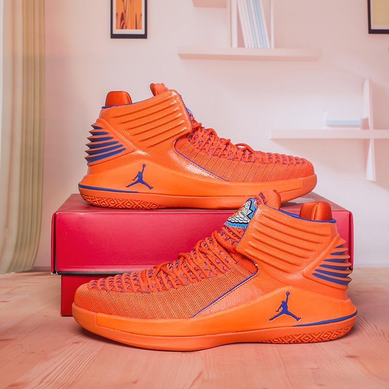 Баскетбольные кроссовки Air Jordan 32 (XXXII ) Orange