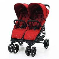 Коляска для двойни Snap Duo Fire red (Valco Baby, Австралия)