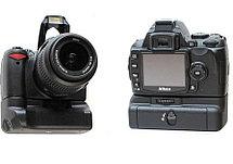 Батарейный блок на Nikon D3000, фото 2