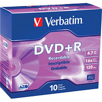 Verbatim диск DVD+R оптический привод (43508)