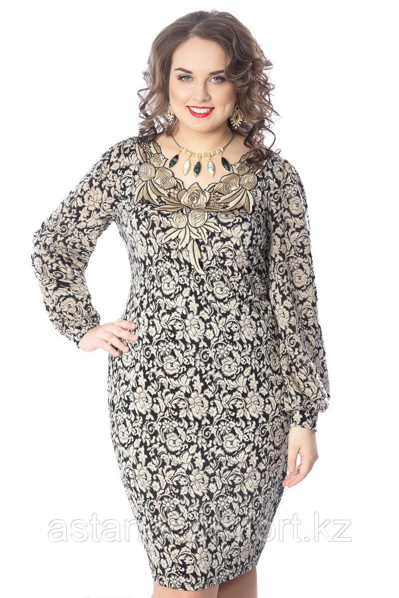 Очаровательное женское платье. Россия. Wisell. Размеры: 54, 56