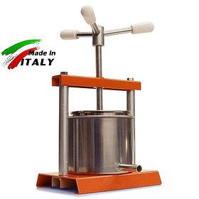 Соковыжималка OMAC 360 Torchietto итальянский домашний ручной винтовой пресс для отжима сока, сыра, масла