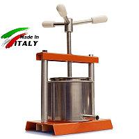 Соковыжималка OMAC 360 Torchietto домашний ручной винтовой пресс для отжима сока, масла, сыра. Италия, фото 1
