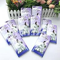 Обертки для шоколадок на свадьбу  на узату