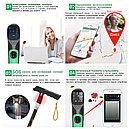 Электронная трость с GPS маячком, встроенным телефоном, тонометром, радио/МР3, фонарем и др., фото 2
