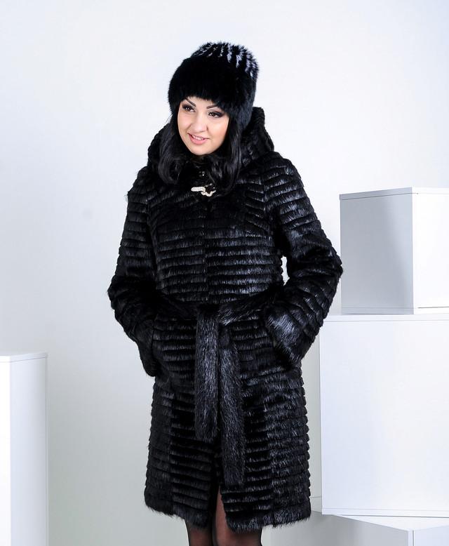 Меховая шапка из кролика, купить в казахстане