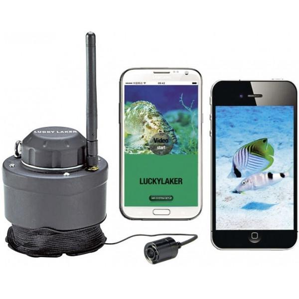 Подводная Wi-Fi видеокамера для рыбалки (видео-удочка) Lucky FF3309 new