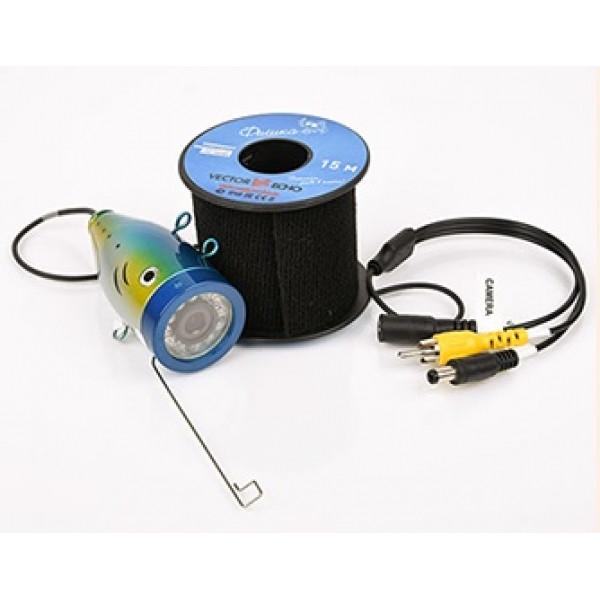 Подводная видеокамера для рыбалки (видео-удочка) с функцией записи Фишка 703