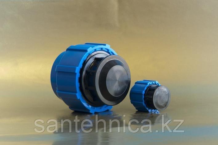 Заглушка компрессионная Дн 63 для ПЭ (ПНД) труб ТПК-АКВА, фото 2