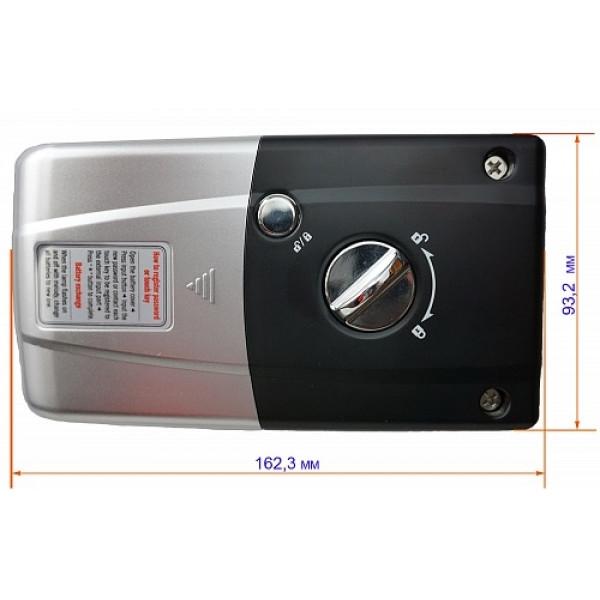 Накладной электронный кодовый замок для стеклянных дверей Evernet Glass LH300GC-S