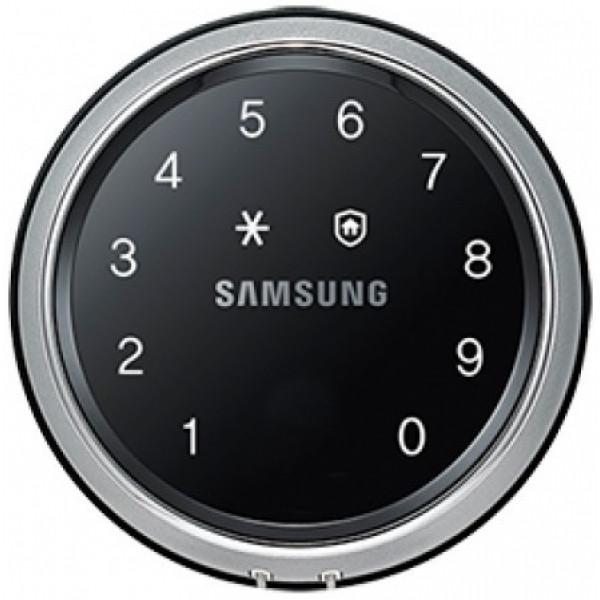 Накладной электронный кодовый замок на дверь Samsung SHS-D607