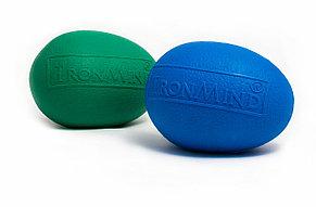 Тренажер для рук - полимерное яйцо IronMind Egg (Синий). Эспандер Кистевой , фото 3